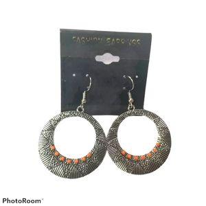🔥2/$30🔥Adobe Dusk Orange hoop Earring